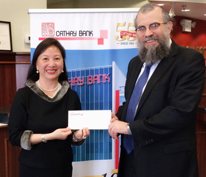 Thank you Cathay Bank Foundation!